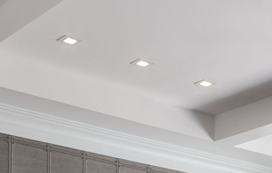 square recessed lights