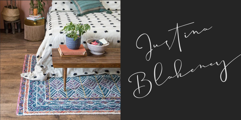 justina blakeney textiles by loloi