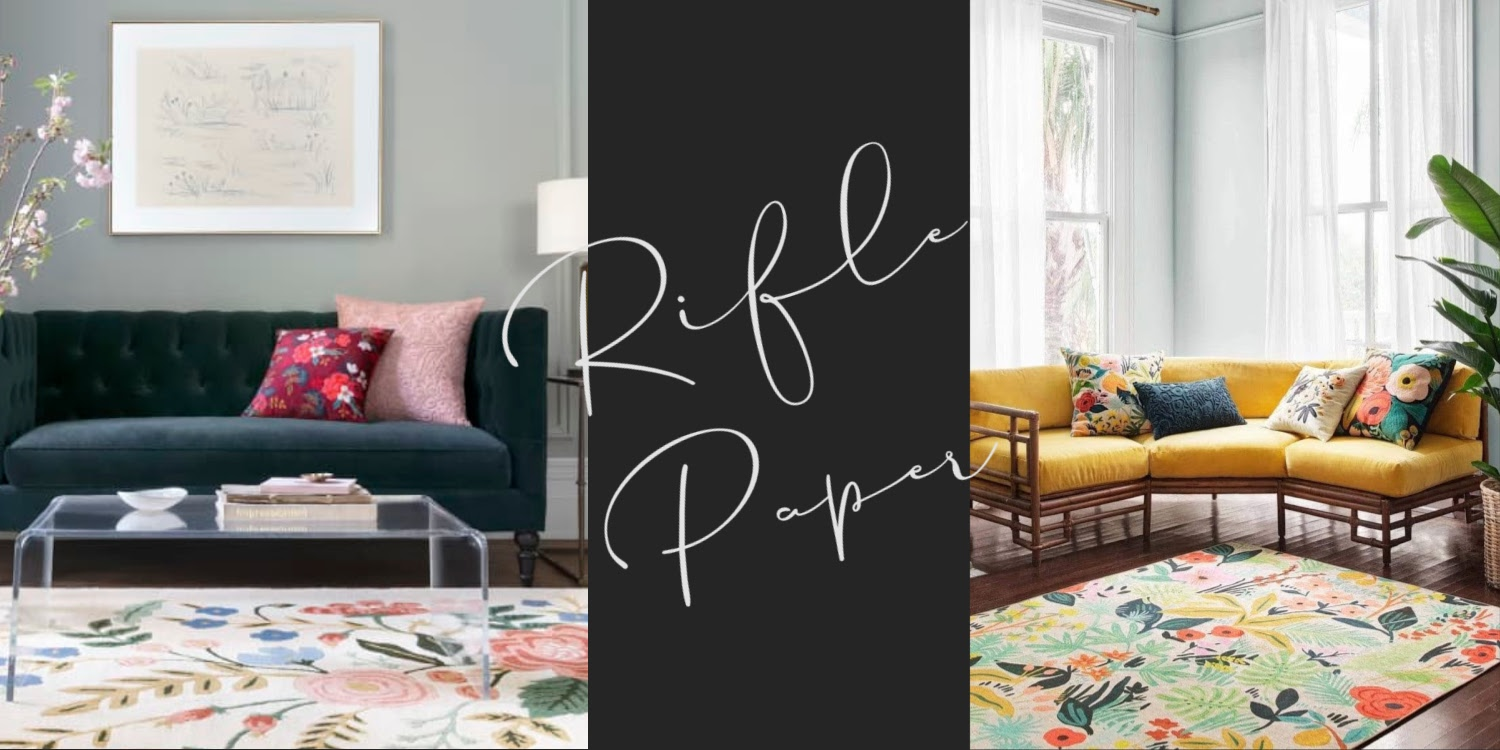 rifle paper textiles by loloi