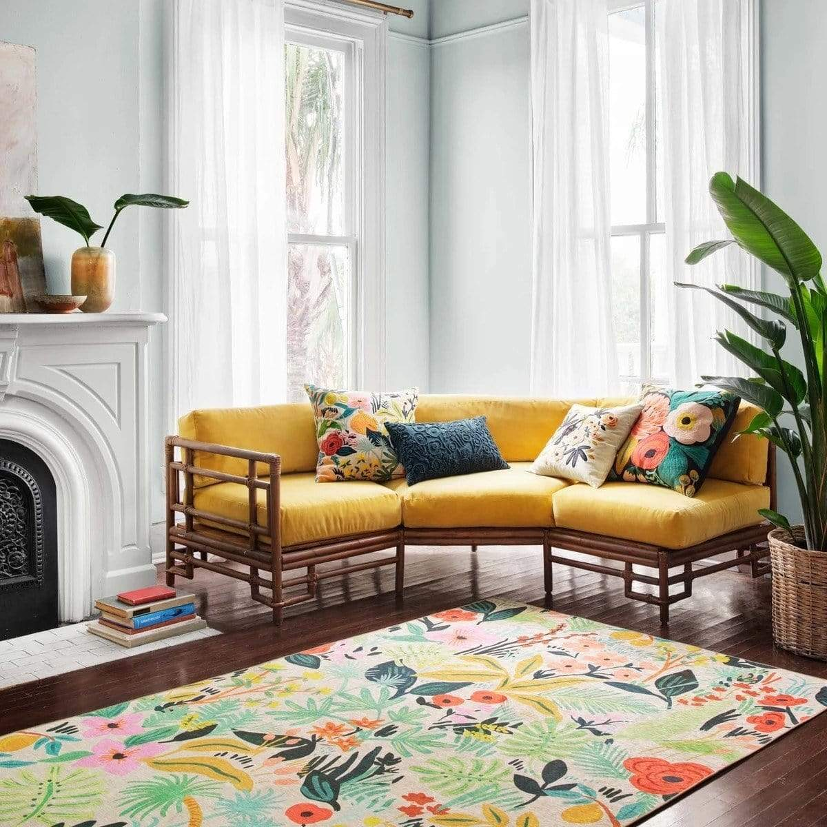 rifle paper rug by loloi