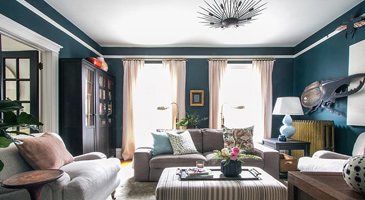 Family room lighting design and installation create the perfect