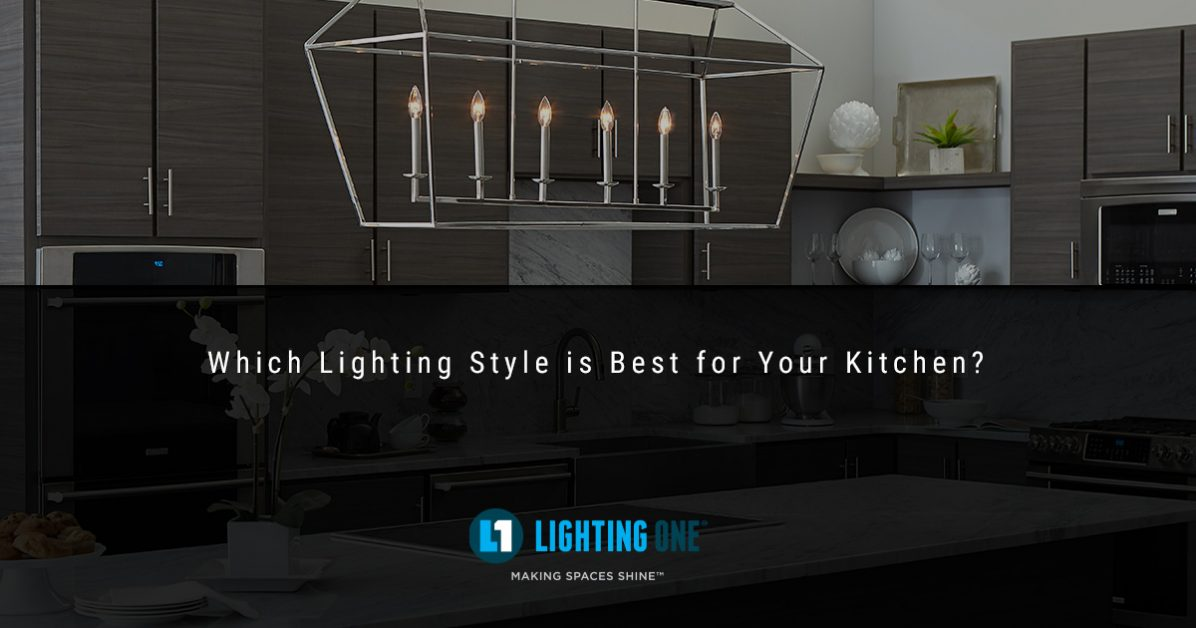 Kitchen Lighting Trends: Finding the Right Style