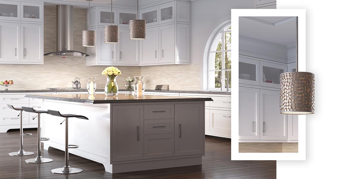 Kitchen Lighting Collage