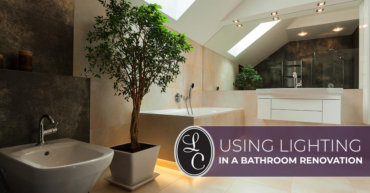 Interior Lighting Alabama: Using Lighting In A Bathroom Renovation