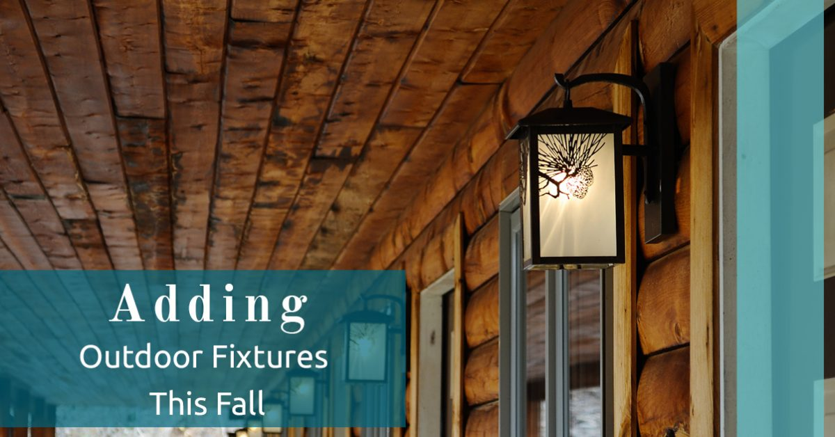 Outdoor Lighting Cincinnati Outdoor lighting cincinnati adding new fixtures this fall fall is only a few days away and youre probably thinking about what you need to do to get your house ready for the changing weather if you havent workwithnaturefo