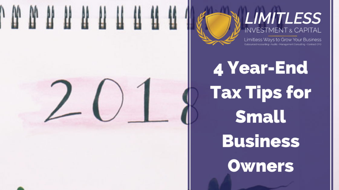 4 Year-End Tax Tips for Small Business Owners