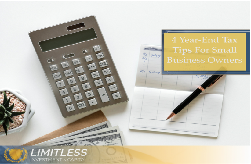 Four Tax Tips for Small Business Owners