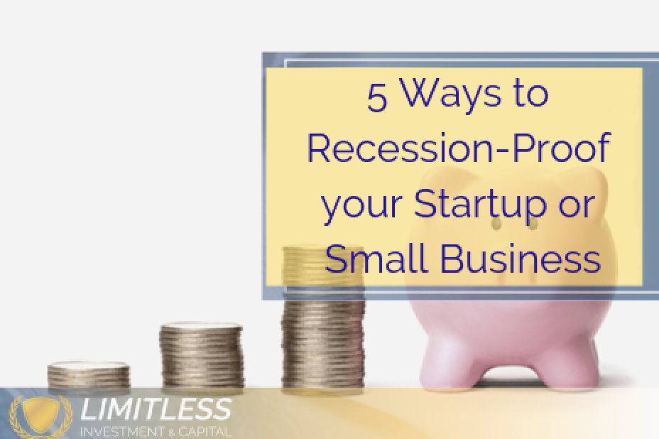 A recession could be looming here are 5 ways to recession proof your small business