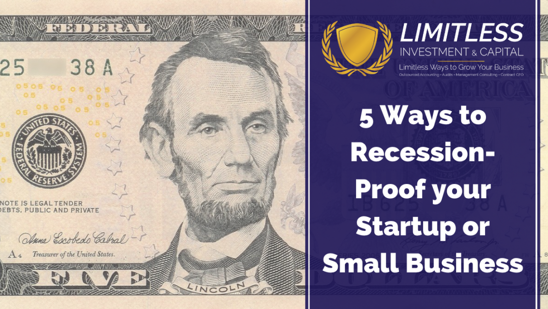 5 Ways to Recession-Proof your Startup or Small Business