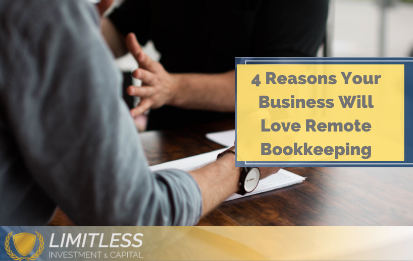 Remote Business Bookkeeping Services for Small Business