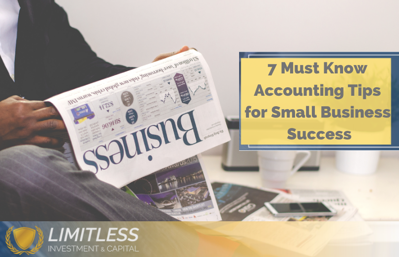 7 Must Know Accounting Tips for Small Business Success