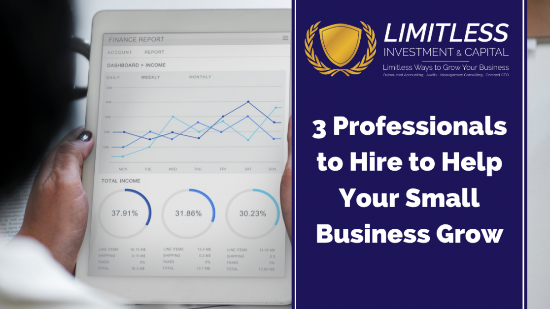 3 Professionals to Hire to Help Your Small Business Grow