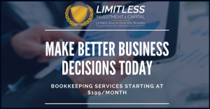 Make Better Business Decisions Today. Bookkeeping Services Starting at $199/month
