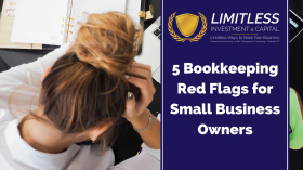 5 Bookkeeping Red Flags for Small Business Owners