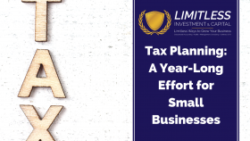 Tax Planning: A Year-Long Effort for Small Businesses
