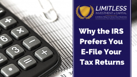 Why the IRS Prefers You E-File Your Tax Returns