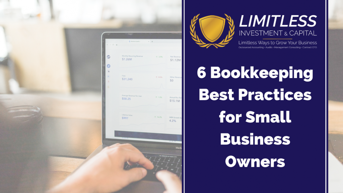 6 Bookkeeping Best Practices for Small Business Owners