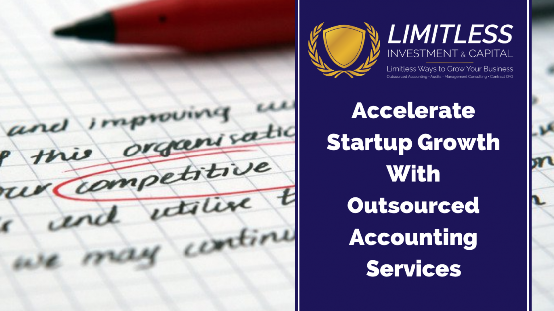 Accelerate Startup Growth With Outsourced Accounting Services