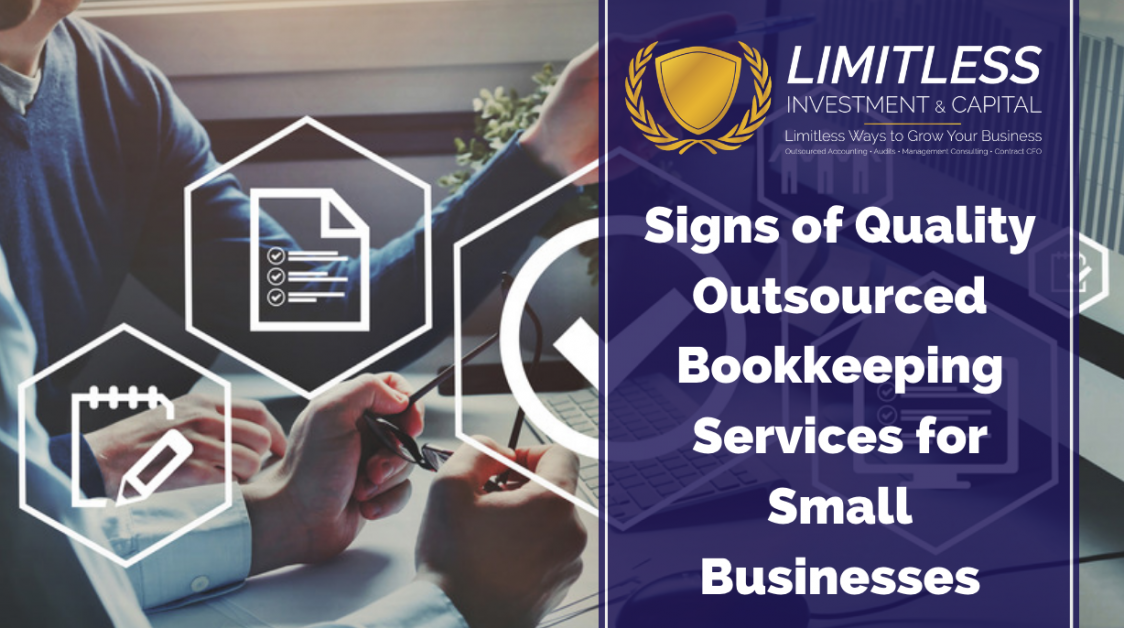 Signs of Quality Outsourced Bookkeeping Services for Small Businesses