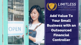 Add Value To Your Small Business with an Outsourced Financial Controller
