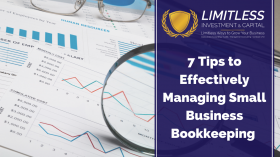 7 Tips to Effectively Managing Small Business Bookkeeping