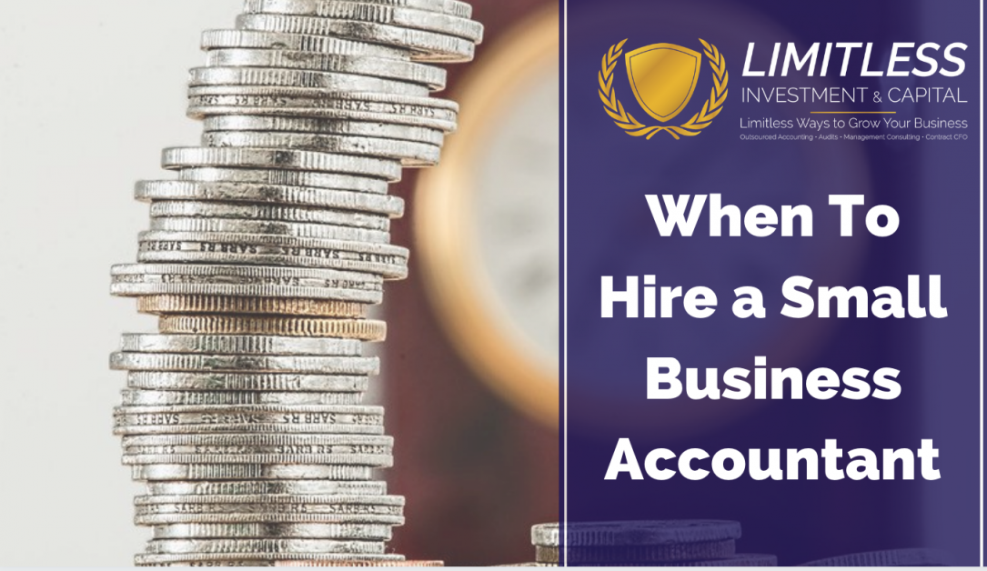 When To Hire a Small Business Accountant
