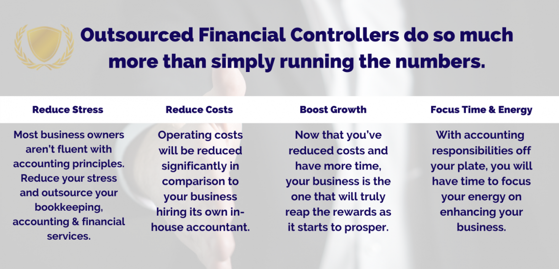Outsourced Financial Controllers do so much more than simply running the numbers.