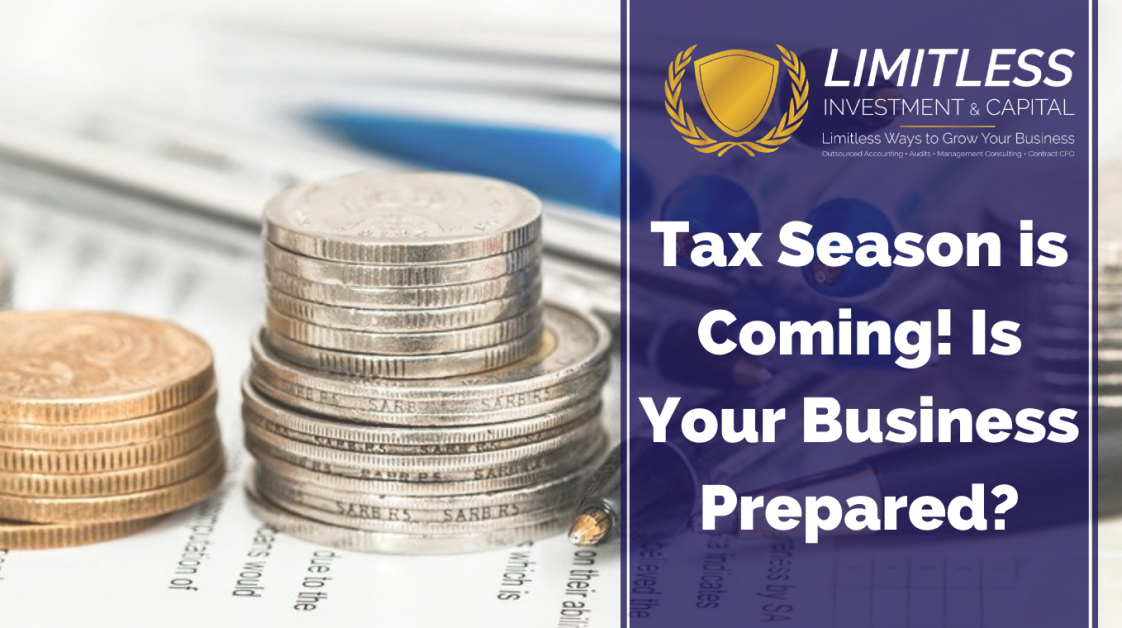 Tax Season is Coming! Is Your Business Prepared?