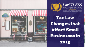 Tax Law Changes that Affect Small Businesses in 2019