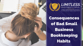 Consequences of Bad Small Business Bookkeeping Habits
