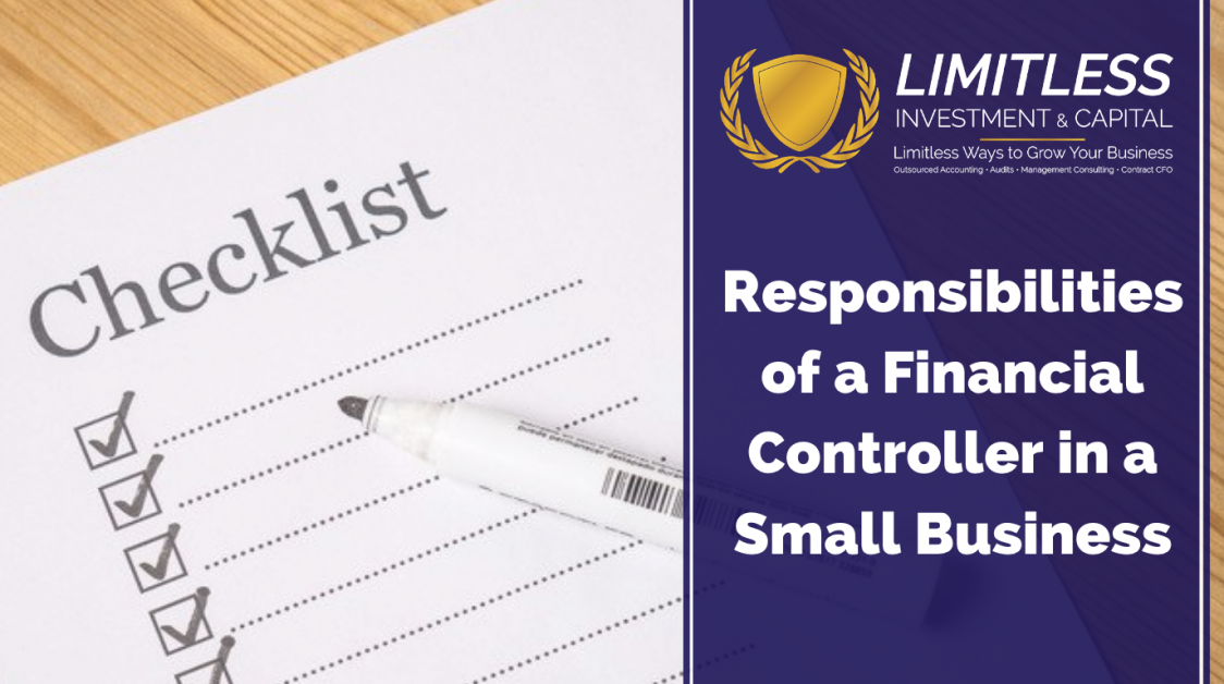 Responsibilities of a Financial Controller in a Small Business