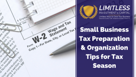 Small Business Tax Preparation & Organization Tips for Tax Season