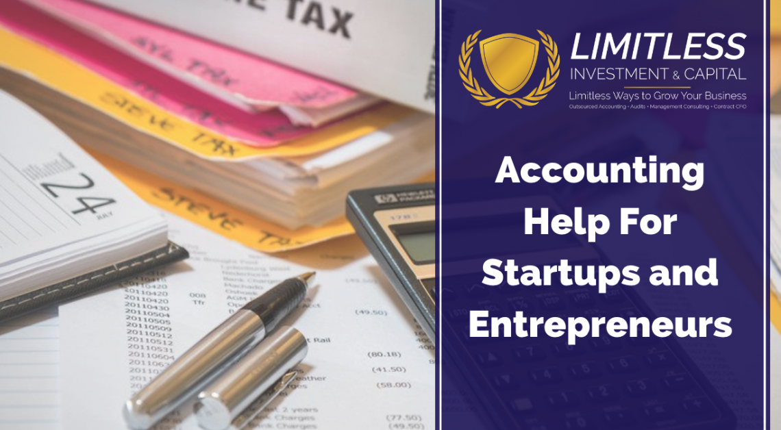 Accounting Help For Startups and Entrepreneurs