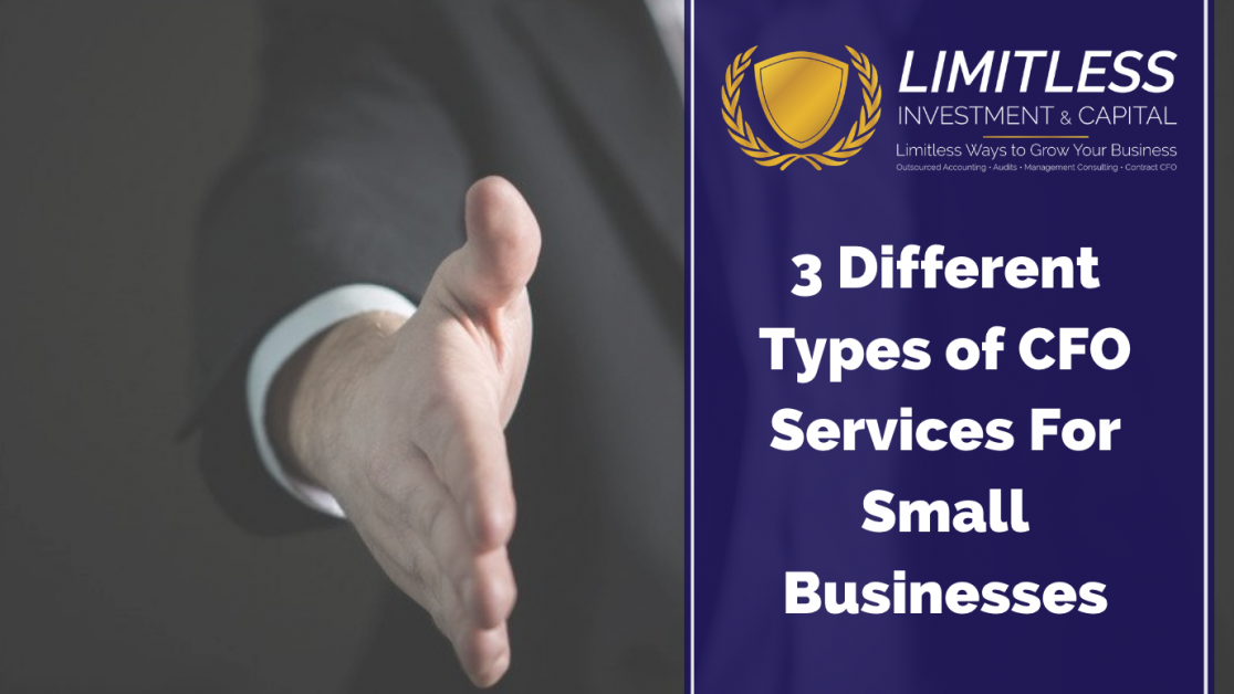 3 Different Types of CFO Services For Small Businesses
