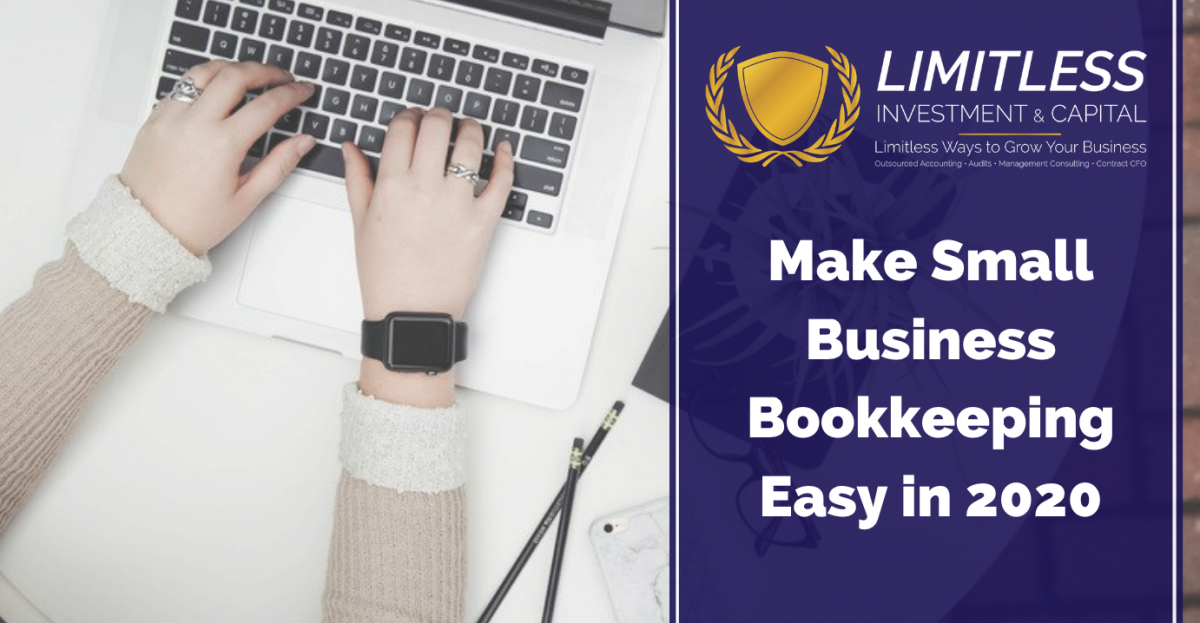 Make Bookkeeping Easy in 2020