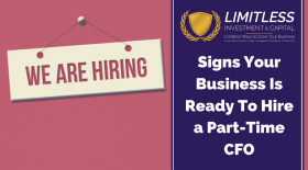 Signs Your Business Is Ready To Hire a Part-Time CFO