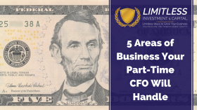 5 Areas of Business Your Part-Time CFO Will Handle
