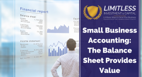 Small Business Accounting: The Balance Sheet Provides Value