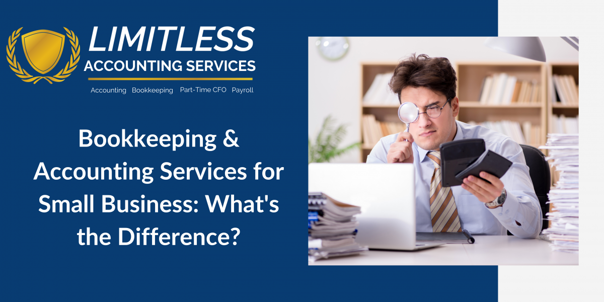 Bookkeeping and Accounting Services for Small Business