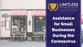Assistance for Small Businesses During the Coronavirus