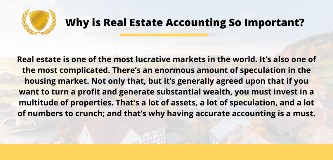 Importance of Real Estate Accounting