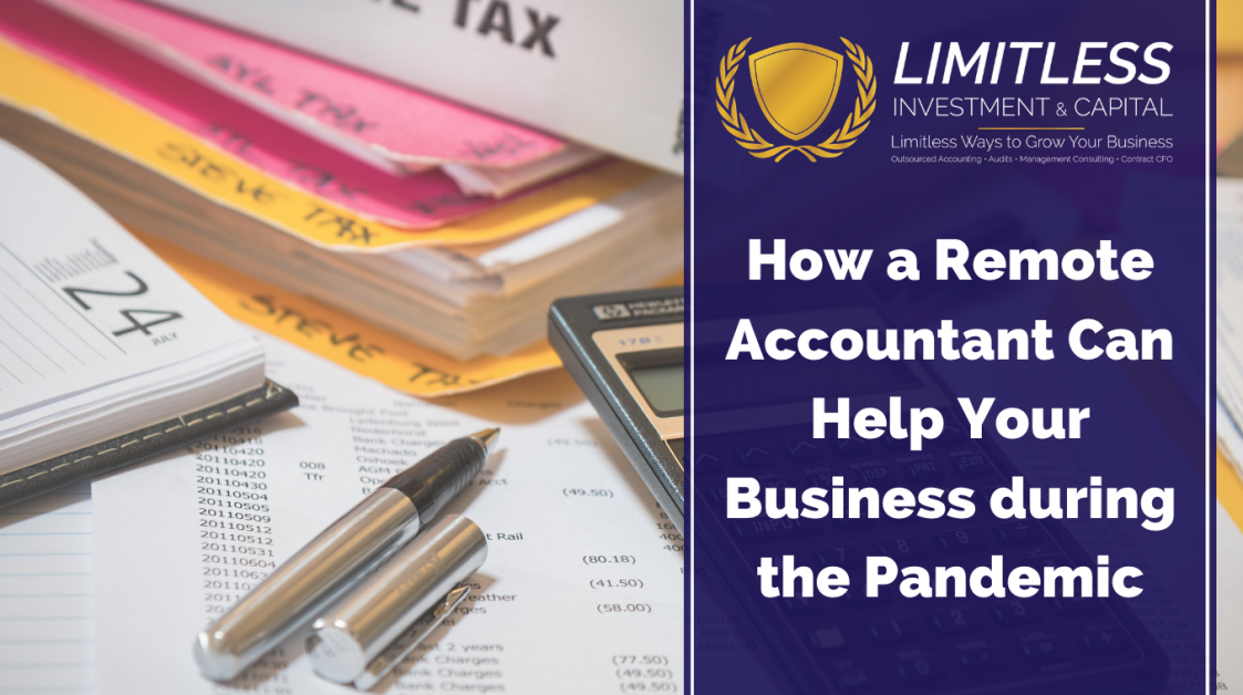 How a Remote Accountant Can Help Your Business During the Pandemic