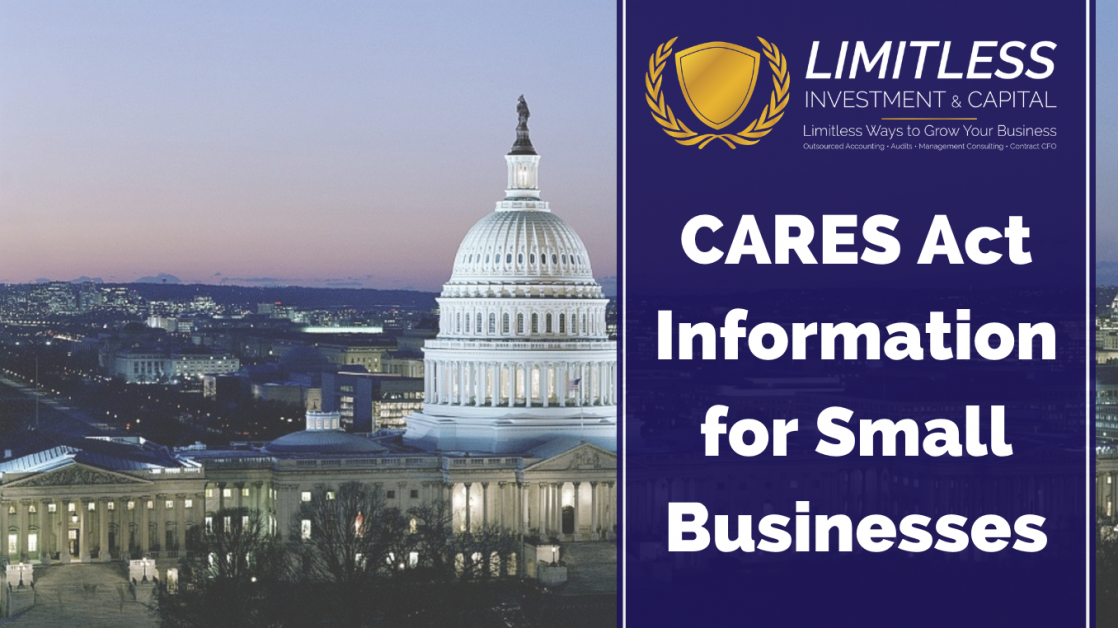 CARES Act Information for Small Businesses