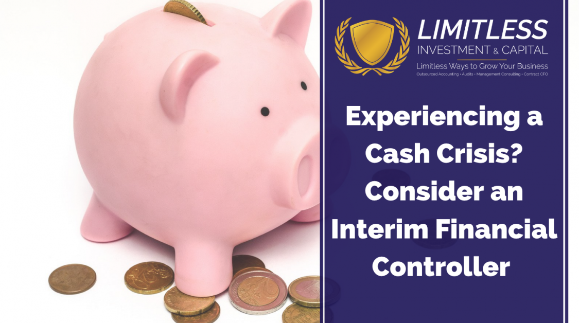 Experiencing a Cash Crisis? Consider an Interim Financial Controller for Your Business