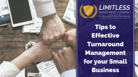 Tips to Effective Turnaround Management for your Small Business