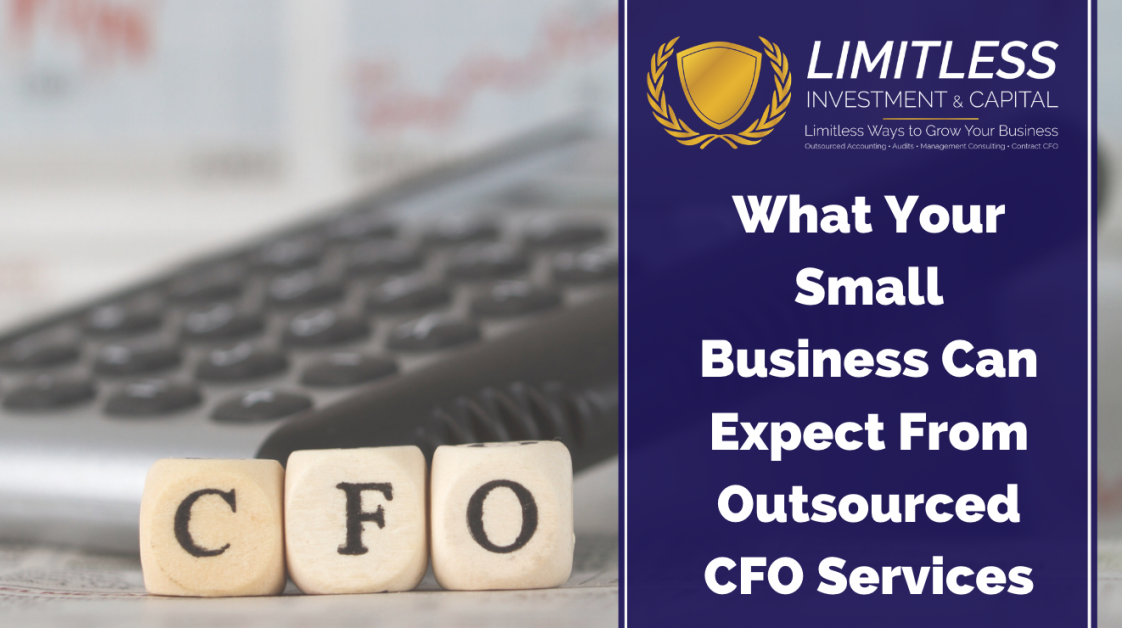 What Your Small Business Can Expect From Outsourced CFO Services