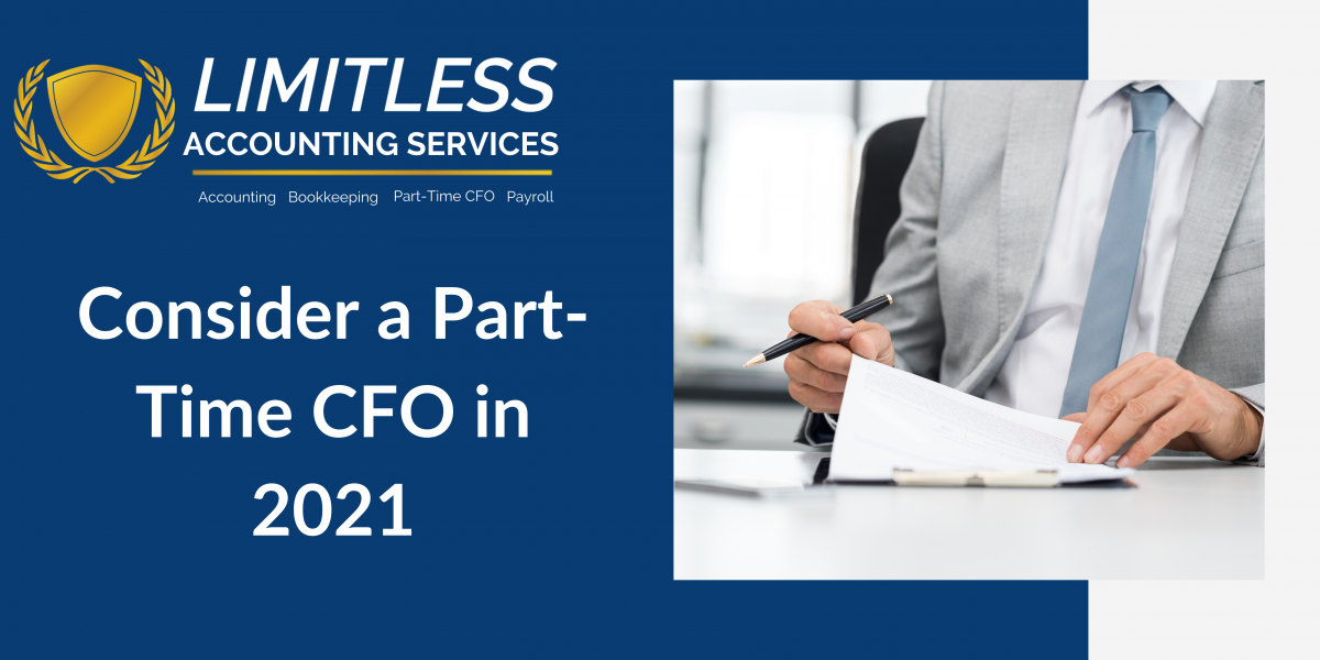 Consider a Part-Time CFO in 2021