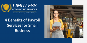 4 Benefits of Payroll Services for Small Business