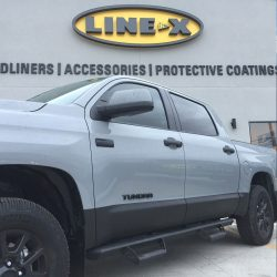 Toyota Tundra with LINE-X protective coating at LINE-X of Austin