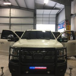 Grille guard and truck bumper at LINE-X of Austin